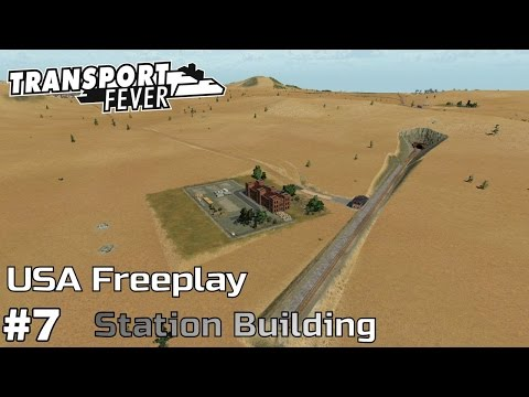 Freight Station Building [1883-85] - Transport Fever [USA Freeplay] [ep7]