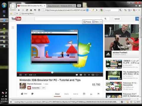 Fake 3DS Emulator - YouTube