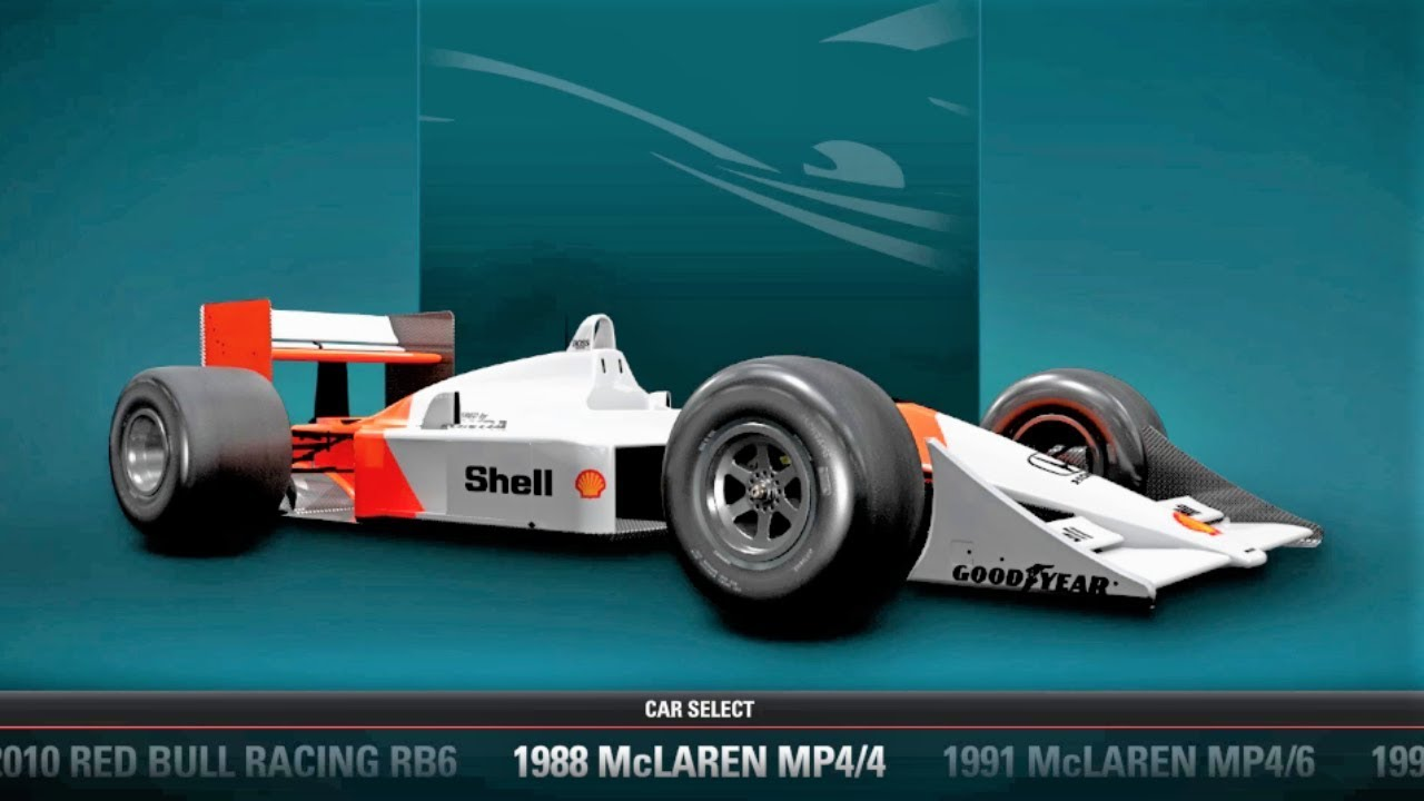 F1 2017 All Classic F1 Cars List HD - YouTube