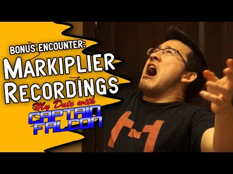 Recording with Markiplier (My Date with Captain Falcon BTS)