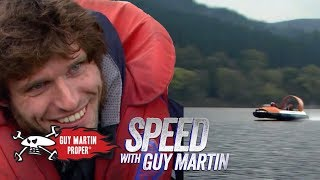 Guy's Hovercraft Speed World Record Attempt | Guy Martin Proper