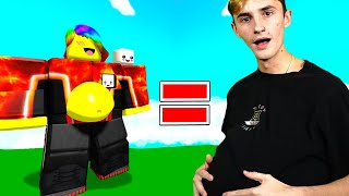 I GOT SO FAT!! Eating Simulator with INFINITY PASSES 💀 (Roblox)