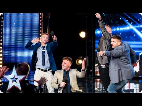 The Boyz bring the boyband cheese to BGT   Auditions Week 4   Britain's Got Talent 2017