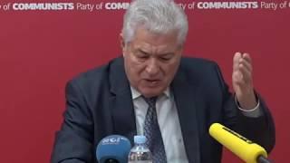 Declaraţiile lui Vladimir Voronin din 24 octombrie 2017