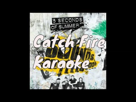 5 Seconds Of Summer -Catch Fire (Piano Karaoke Version)