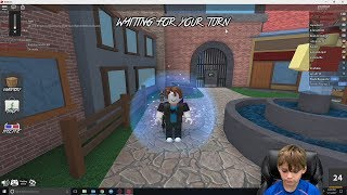 My First Legendary | Roblox Murder Mystery 2 EP 25 | Gaming With Tyler Davis