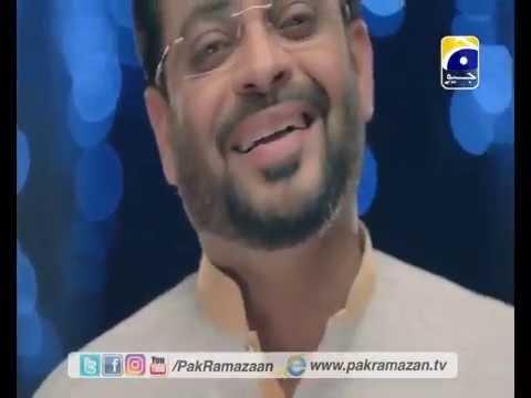 Pak Ramadan naat by aamir liaquat 2016