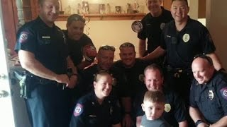Police save autistic child's party
