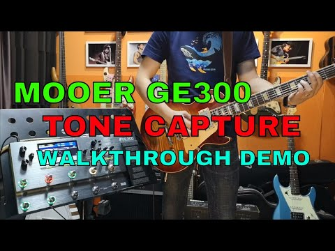 Mooer GE300 Tone Capture Guitar  Walkthrough Demo & Review