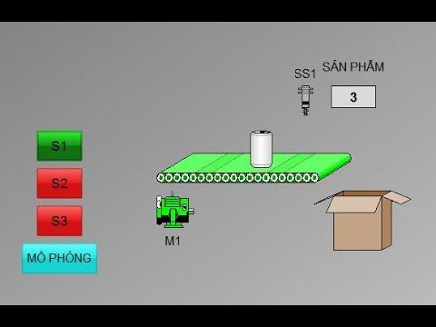 Hướng dẫn mô phỏng cảm biến tự tác động trên Wincc và PLC S7300