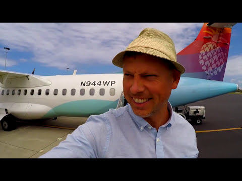 Honolulu to Maui island air hawaii flight