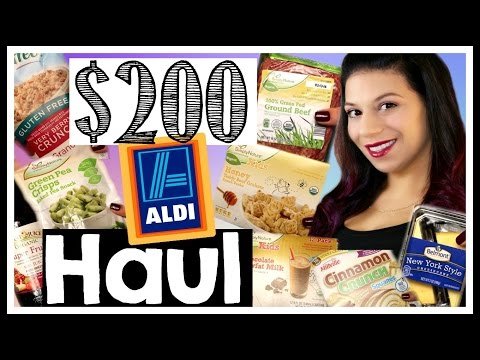 ALDI GROCERY HAUL 2016 + TIPS ON HOW TO SHOP THERE || WHAT A FAMILY OF 4 EATS || Life as a Twin Mom