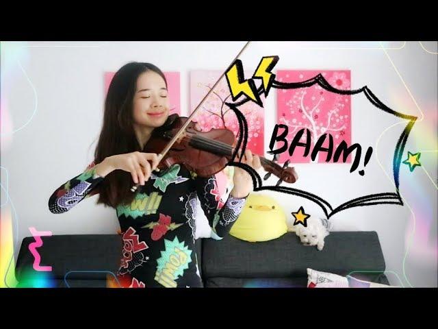 MOMOLAND BAAM ☆Violin☆ [with Sheet Music]