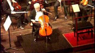 Rostropovich performance in Cremona, October 2004