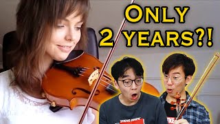 Professional Violinists React to Violin Progress Videos