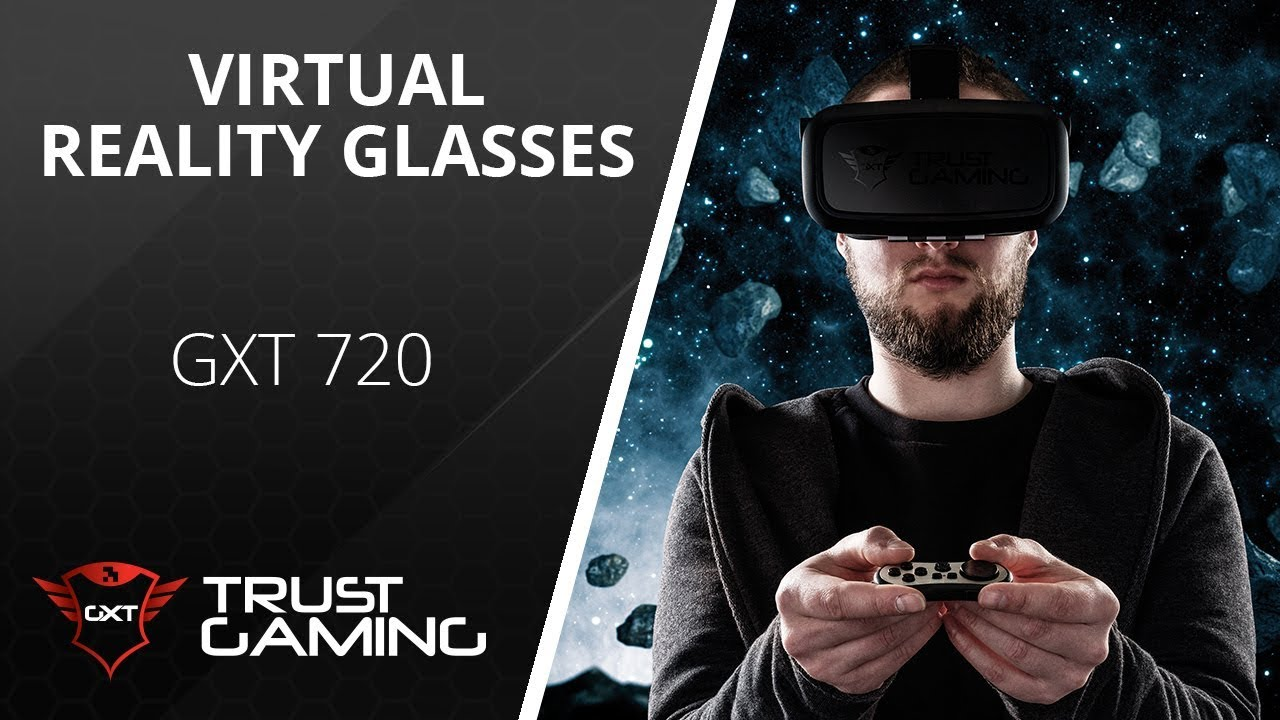 dc88df0a8 Virtual Reality Gaming [Trust GXT 720 Gaming VR Glasses] - YouTube