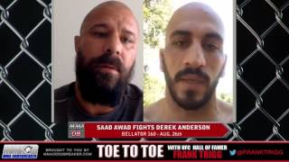 Bellator 160's Saad Awad: 'If Anderson tries to outstrike me, he'll be in for a long night'