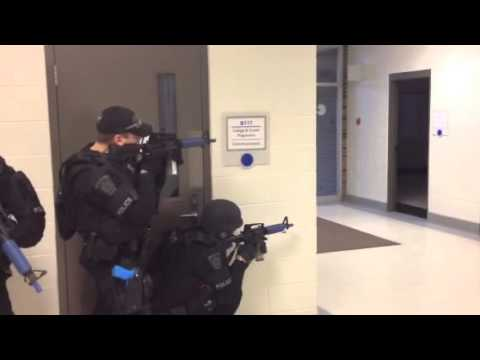 Brantford Police training