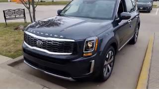 2020 Kia Telluride S Start up Engine and full tour