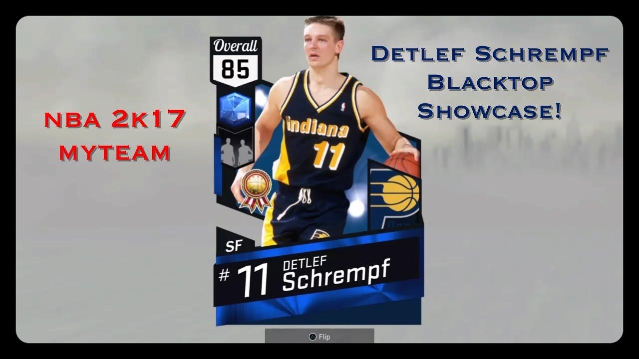 NBA 2K17 MyTEAM Sapphire Reward Detlef Schrempf