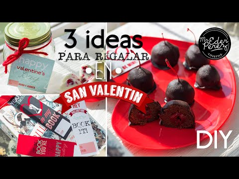 Diy 3 ideas de regalos originales para san valentin youtube - Ideas para sanvalentin ...