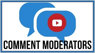 How To Add Comment Moderators To Your YouTube Channel - YouTube Tutorial