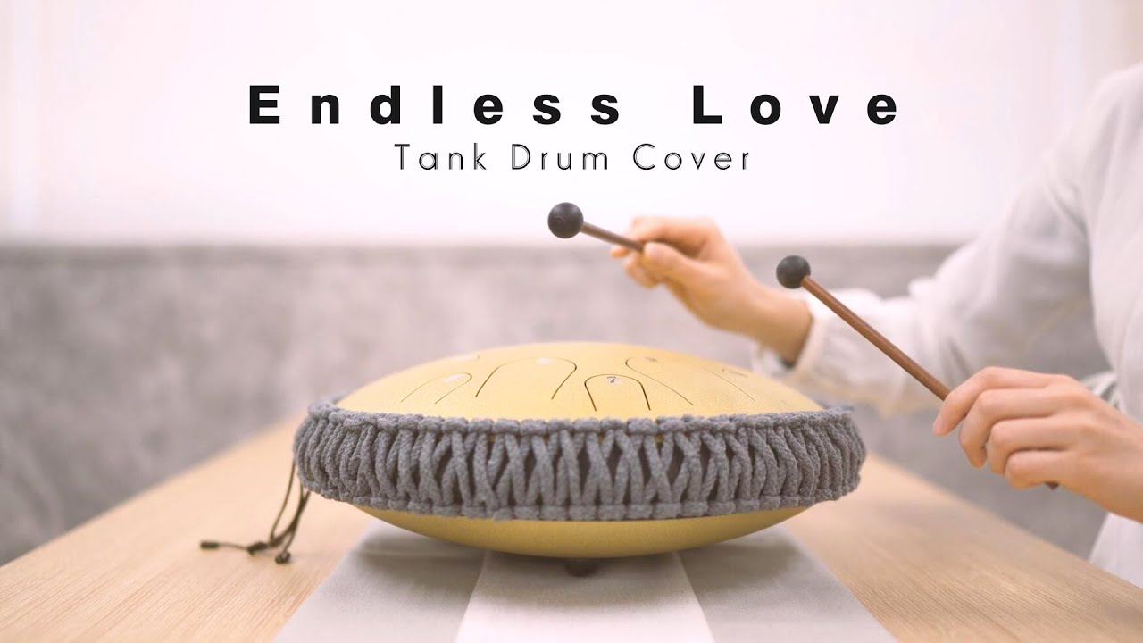Endless love ( 美丽的神话 ) - The Myth OST ( Tank Drum Cover )