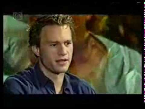 Heath Ledger A Knight's Tale interview - YouTube