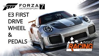 Forza Motorsport 7 First Drive E3 2017 with Wheel & Pedals at Mugello