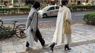 Токио уличная мода в ноябре Шоппинг тур Сколько стоит повседневная японская одежда