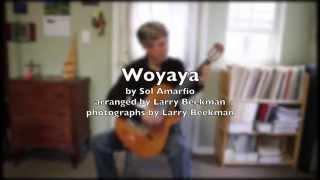 Woyaya, for solo guitar