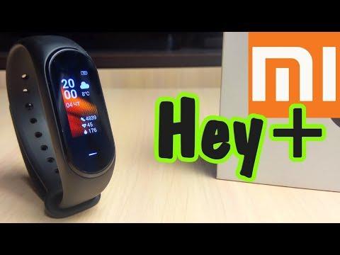 Xiaomi Hey+ Black Plus NFC (Китайский фитнес браслет для России)