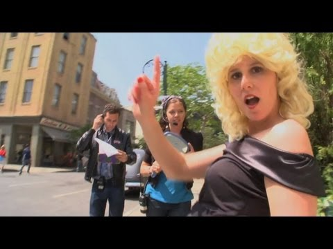 Grease Lip Dub musical it's one shot with tons of Grease fans in a single Lip Dub Music Video
