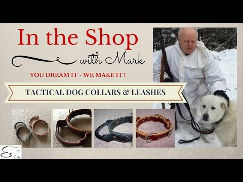 Tactical Dog Collars & Leashes, High Quality, Hand Made