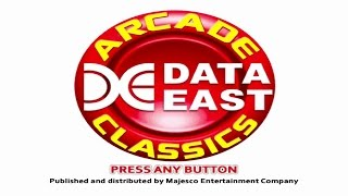 Data East Arcade Classics Wii Gameplay