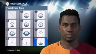 PES 2016 Face Build - Ryan Donk (Galatasaray)