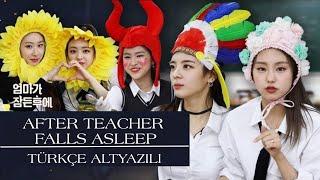 [Türkçe Altyazılı] ITZY | After Teacher Falls Asleep