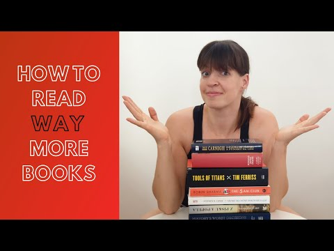 HOW TO READ WAY MORE BOOKS – tips for reading daily in 2020