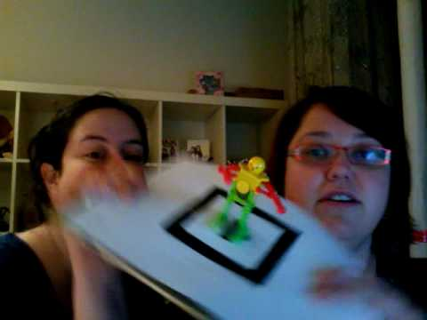 Doubting augmented reality - TAXI holiday card