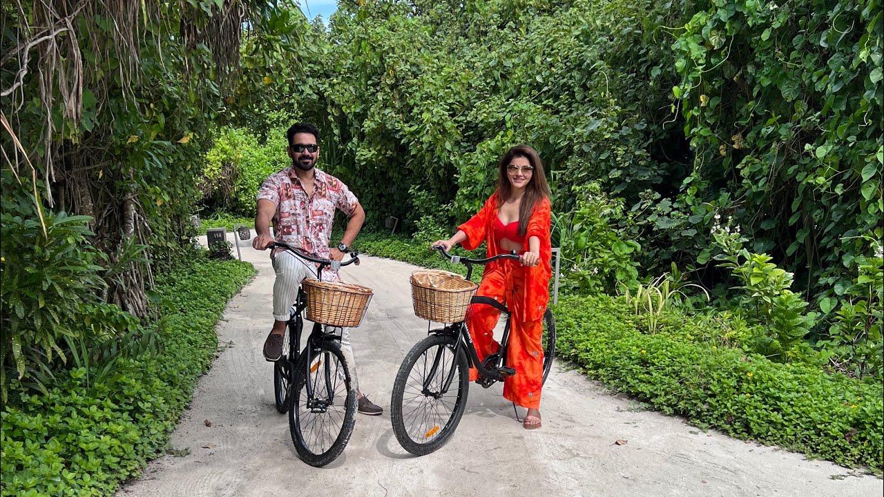 Download || Birthday in Vakkaru Maldives || JourneyLabel || Rubina Dilaik || Abhinav Shukla || Part 1||