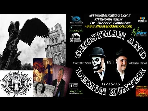 Demon possession Lady LIVE w/ Dr. Richard Gallagher & GhostM