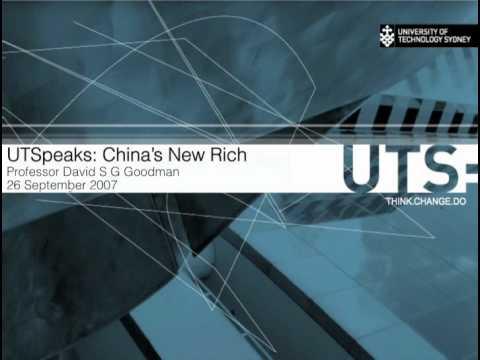UTSpeaks: China's New Rich