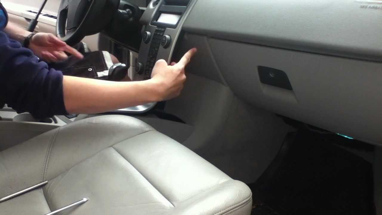 Volvo S40, Back Panel Removal - YouTube