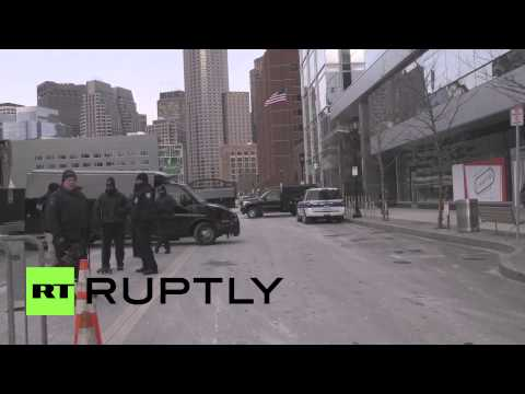 USA: Death penalty for Tsarnaev – Archive footage shows Boston's federal courthouse during trial