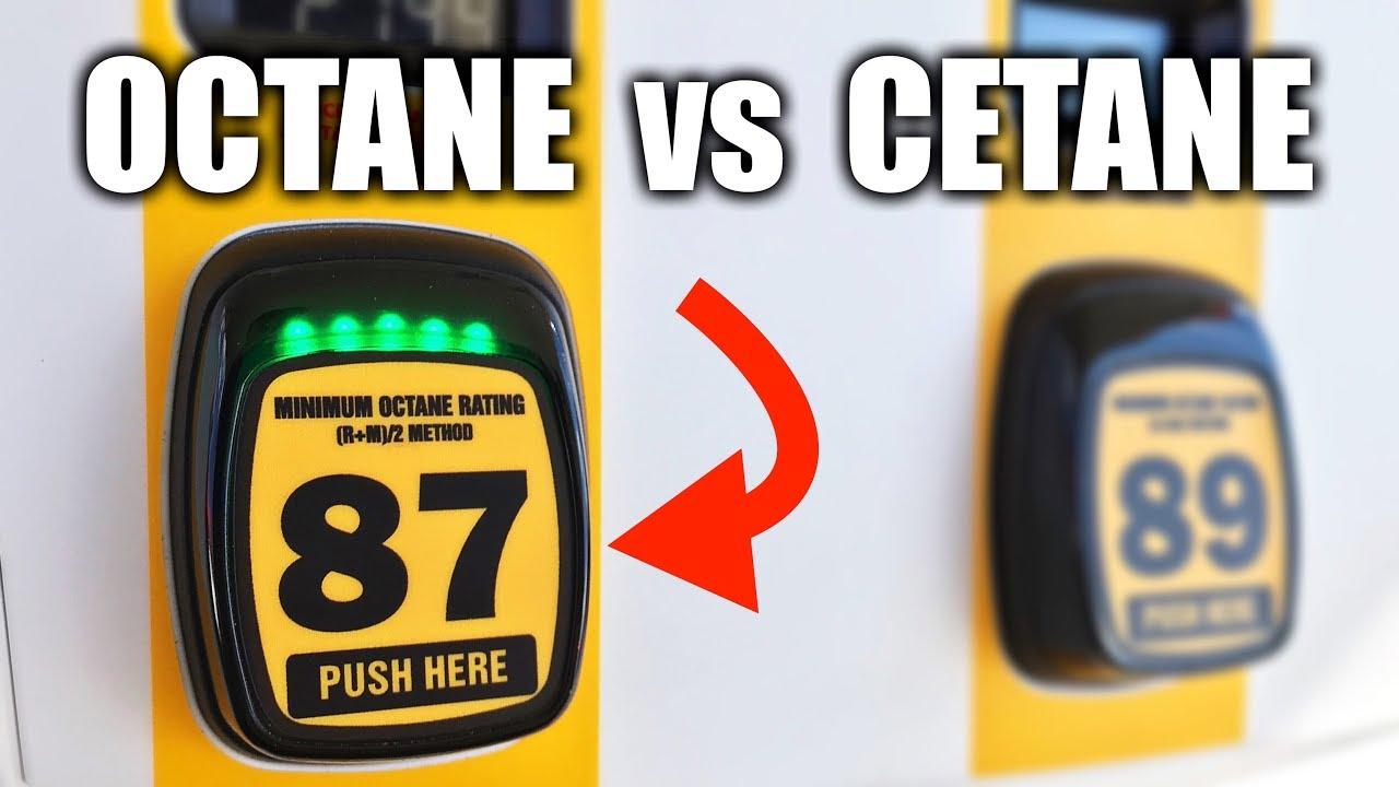 Octane Vs Cetane Number Gas Sel