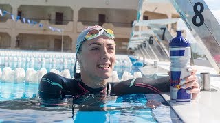 Triathlete Lucy Charles' swimming tips: preparation and kit | Red Bull Fit 4 Purpose