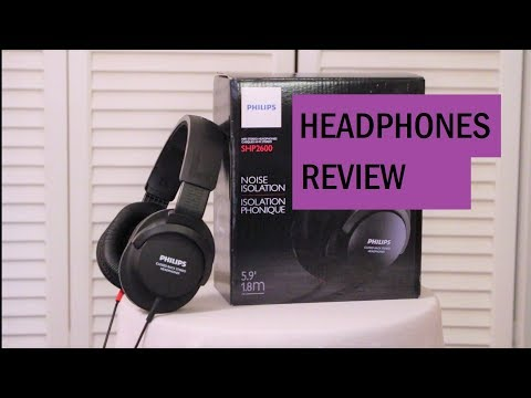 Philips SHP2600 Headphones Review