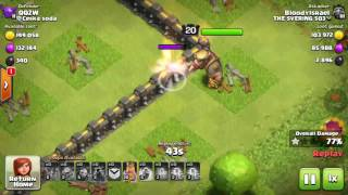 Clash Of Clans - Mad wizzards !!