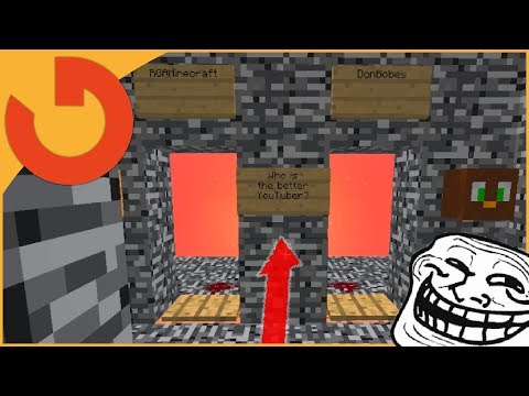 "FAKE ""HACKER"" PLAYS HACKER GAMES! (Minecraft Trolling)"