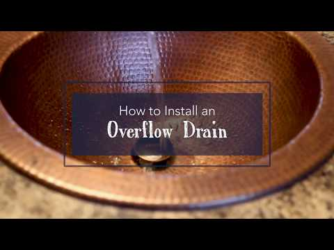 how-to-install-an-overflow-drain